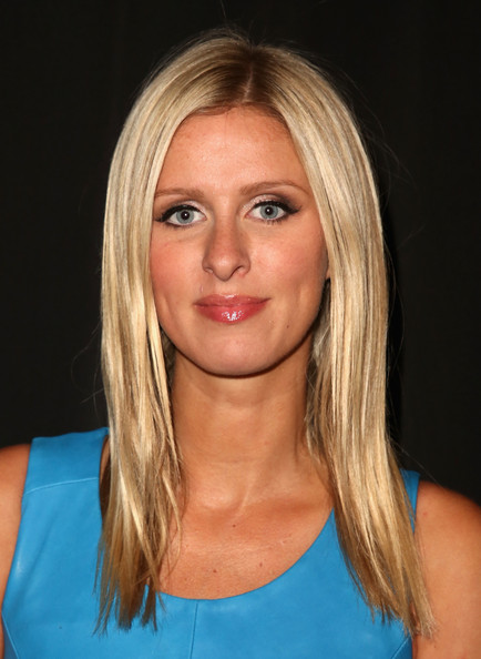 Nicky Hilton Layered Cut