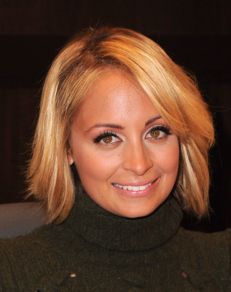 Nicole Richie Bob - Short Hairstyles Lookbook - StyleBistro