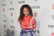Nicole Beharie Mini Skirt