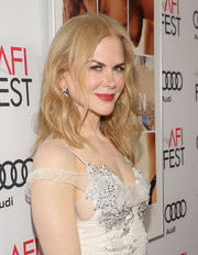 Nicole Kidman sported mildly messy waves at the AFI screening of 'Lion.'