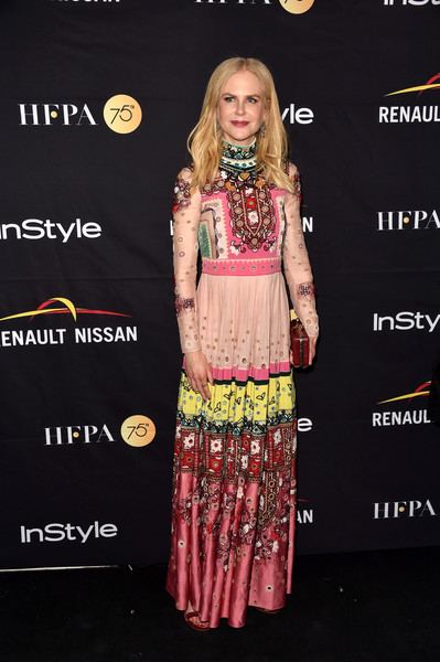 Nicole Kidman Print Dress
