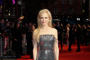Nicole Kidman Off-the-Shoulder Dress