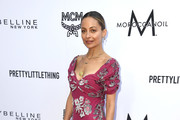 Nicole Richie Embroidered Dress