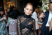 Nicole Richie Sheer Top