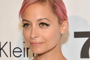 Nicole Richie Side Parted Straight Cut