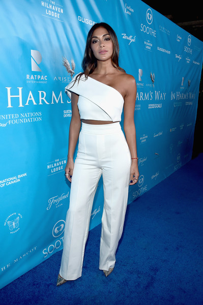 Nicole Scherzinger High-Waisted Pants