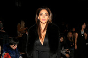 Nicole Scherzinger Wrap Dress