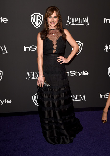 Nikki Deloach Evening Dress [dress,clothing,carpet,little black dress,fashion,red carpet,hairstyle,shoulder,premiere,flooring,nikki deloach,post-party - arrivals,beverly hills,california,the beverly hilton hotel,instyle,warner bros. 72nd annual golden globe awards,warner bros. 72nd annual golden globe awards post-party]
