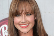 Nikki Deloach Long Straight Cut with Bangs
