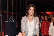 Nikki Reed Sequined Jacket