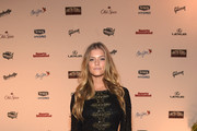 Nina Agdal Beaded Dress