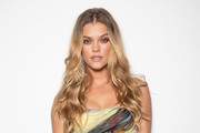 Nina Agdal Gemstone Inlaid Clutch