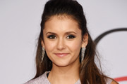 Nina Dobrev Half Up Half Down