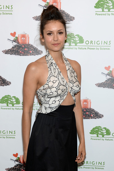 More Pics of Nina Dobrev Classic Bun (1 of 34) - Nina Dobrev Lookbook - StyleBistro