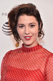 Mary Elizabeth Winstead sported a messy short hairstyle at the Tribeca Film Festival screening of 'All About Nina.'