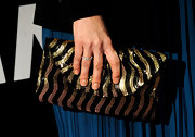 Sequins are a hot trend these days and they have even made there way onto Marisa's clutch.