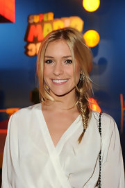 Kristin Cavallari wore her long, golden locks in a cool fishbone braid at the launch of Super Mario 3D Land.