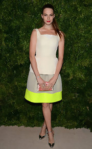 Electra's dress was retro with an electric twist at the CFDA Fashion Fund Awards.