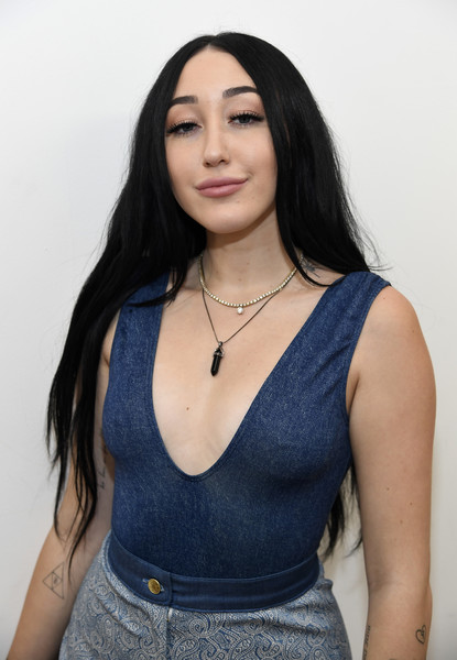 Noah Cyrus Artistic Design Tattoo [noah cyrus performs at space 15twenty,hair,clothing,blue,beauty,black hair,hairstyle,jeans,lip,lady,long hair,noah cyrus,urban outfitters space 15twenty,los angeles,california,the crystal campaign collection launch]