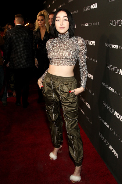 Noah Cyrus Crop Top [stock photography,clothing,fashion,fashion model,crop top,human,fashion show,performance,shirt,carpet,trousers,arrivals,noah cyrus,fashion,clothing,fashion model,fashion nova,cardi b collaboration,launch event,cardi b collaboration launch event,noah cyrus,miley cyrus,lil xan,stock photography,getty images,image,photography,sea wall / a life,los angeles]
