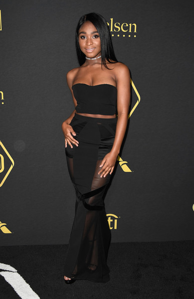 Normani Kordei Sheer Skirt