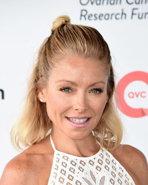 Kelly Ripa's Half Up Half Down