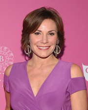 LuAnn de Lesseps sported a feathered bob at the So Sexy NYC event.