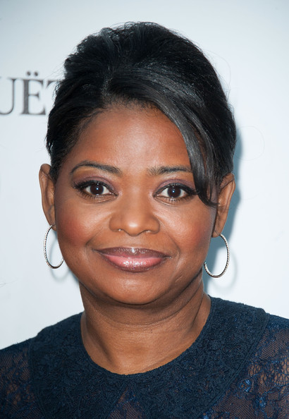 Octavia Spencer Diamond Hoops
