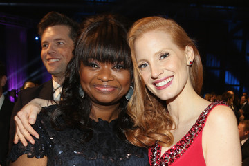 Octavia Spencer Jessica Chastain 18th Annual Critics' Choice Movie Awards - Backstage And Audience