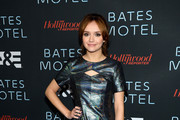 Olivia Cooke Cutout Dress