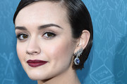 Olivia Cooke Dangling Gemstone Earrings