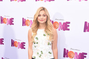 Olivia Holt Embellished Top