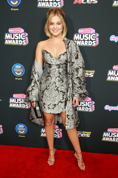 Olivia Holt Evening Coat