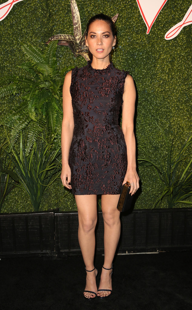 Olivia Munn Evening Sandals Olivia Munn Looks Stylebistro