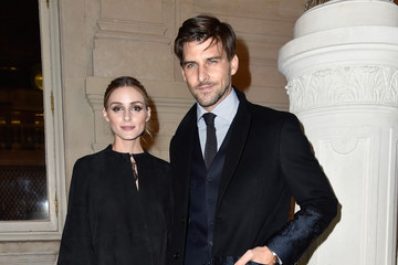 Olivia Palermo Johannes Huebl Valentino : Front Row - Paris Fashion Week - Haute Couture Spring Summer 2016