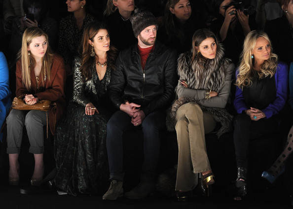 Rebecca Minkoff  - Front Row - Fall 2012 Mercedes-Benz Fashion Week