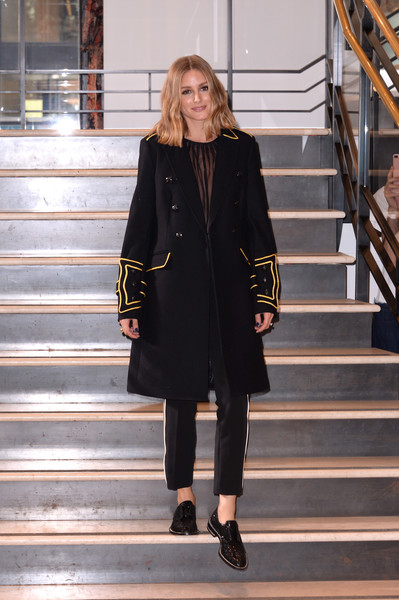 Olivia Palermo Military Jacket