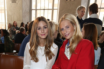 Olivia Palermo Poppy Delevingne Emilia Wickstead: Front Row - London Fashion Week AW14