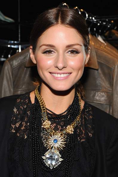 Olivia Palermo Gemstone Statement Necklace [hugo boss celebrates hugo on greene street in honor of the young collectors council of the solomon r. guggenheim museum,hair,eyebrow,hairstyle,beauty,lip,chin,jewellery,black hair,fashion,fashion accessory,olivia palermo,greene street in honor,hugo boutique,new york city,solomon r. guggenheim museum,hugo,young collectors council,hugo boss]