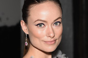Olivia Wilde Dangling Gemstone Earrings