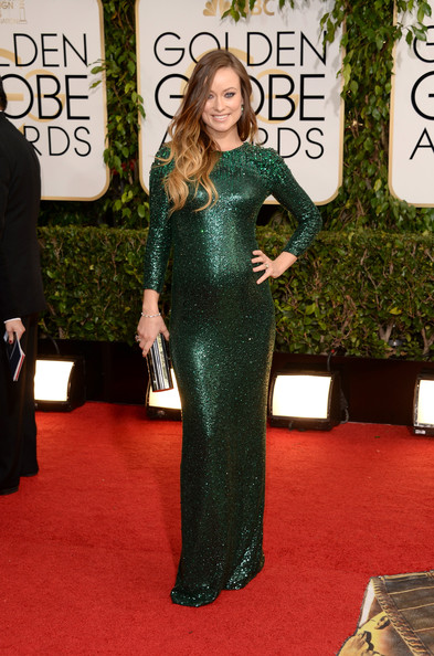 Olivia Wilde Maternity Dress