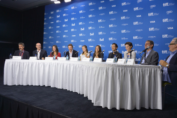 'Third Person' Press Conference in Toronto