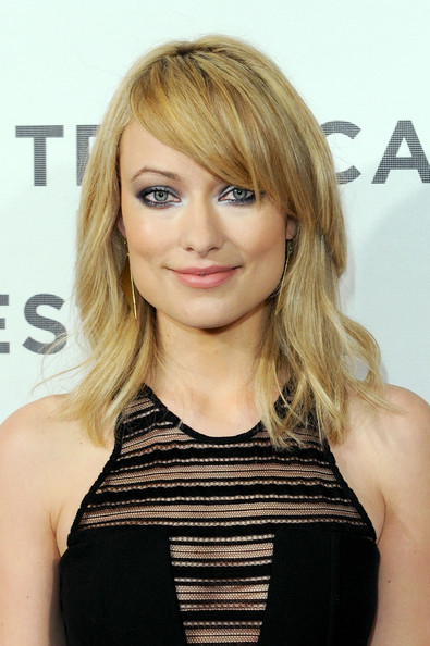 Olivia Wilde Medium Layered Cut