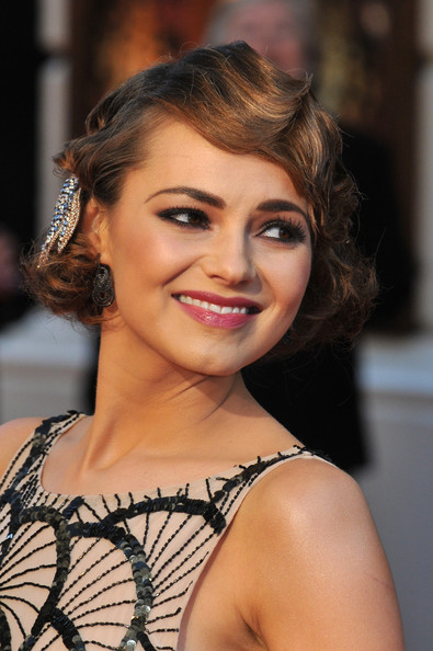 More Pics of Kara Tointon Finger Wave (8 of 10) - Kara Tointon Lookbook - StyleBistro