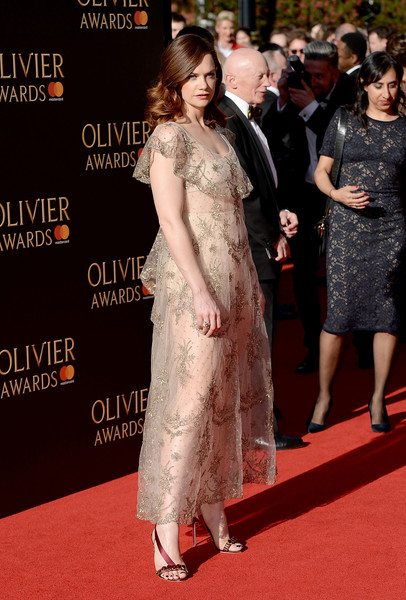 More Pics of Ruth Wilson Sheer Dress (1 of 6) - Dresses & Skirts Lookbook - StyleBistro