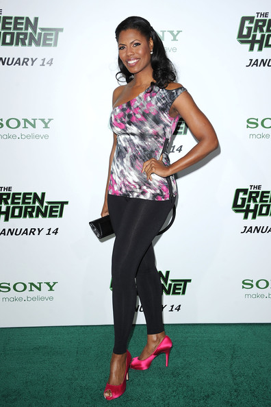 Omarosa Manigault-Stallworth Leggings [the green hornet,clothing,fashion,footwear,premiere,carpet,muscle,event,red carpet,shoe,leggings,arrivals,omarosa manigault-stallworth,california,hollywood,graumans chinese theatre,columbia pictures,premiere,premiere]