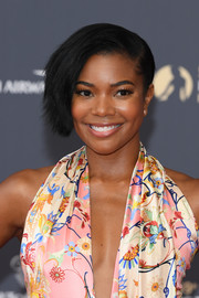 Gabrielle Union went for an edgy-chic side-swept 'do at the 2019 Monte Carlo TV Festival opening ceremony.