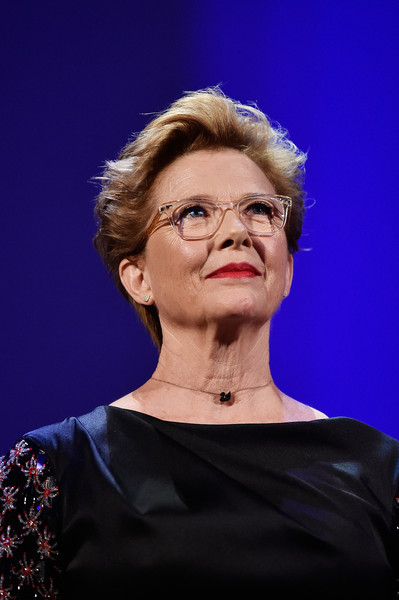 Annette Bening rocked a fauxhawk at the 2017 Venice Film Festival opening ceremony.