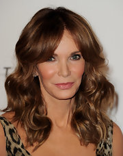Jaclyn's voluminous wavy hair looked stunning, as always, at the gala.