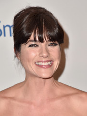 Selma Blair made an appearance at the Smile Gala wearing her hair in a toned-down beehive.